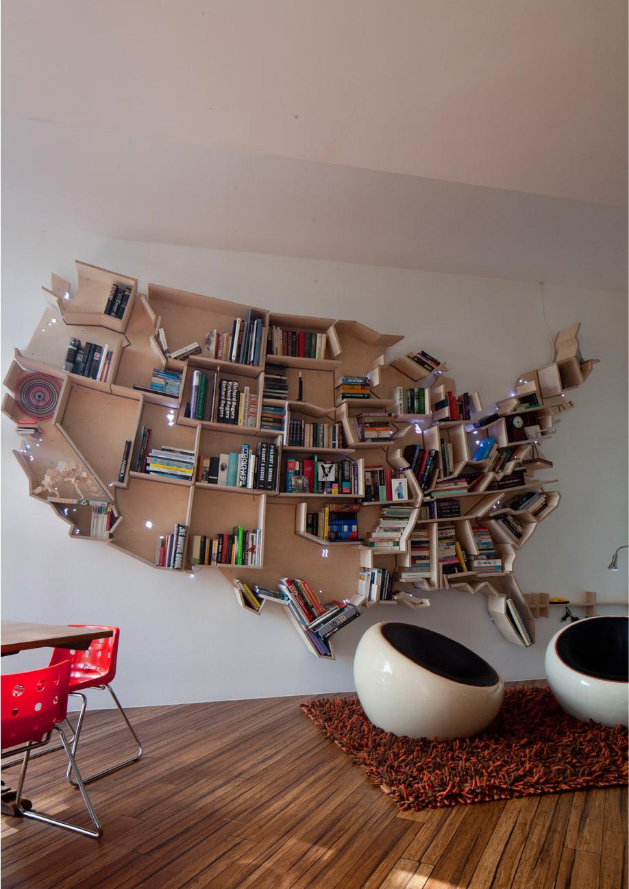 Usa Bookshelf Lacey Saltykov